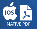 Native PDF for iOS