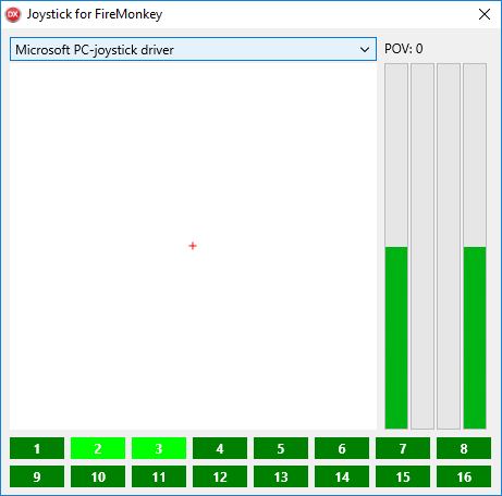 Winsoft Joystick for FireMonkey v1.4 for Delphi/C++ Builder 10 - 10.4 Full Source